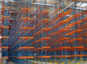 Narrow Aisle Pallet Racking (VNA)