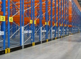 Mobile Pallet Racking – Racking and Shelving